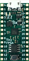 Picture of a TinyFPGA BX baord
